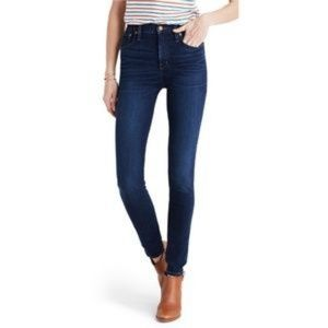 MADEWELL 10″ High Riser Skinny Skinny Jeans 26